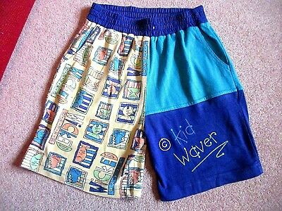 Adams  boys turquoise vintage board surfing summer shorts Age 5-6 height 116 cm