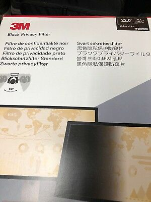 "3M Privacy Filter for 22"" Widescreen Monitor PF220W1B"