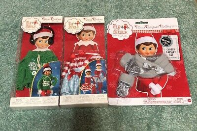 Elf On The Shelf Lot Of Clothes