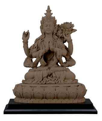 Avalokiteshvara Buddha Statue Sculpture Buddhism Figurine - WE SHIP WORLDWIDE