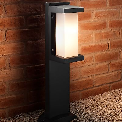 Auraglow Heavy Duty Weather Resistant Outdoor Garden Path Post LED Bollard Light