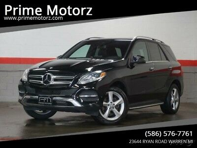 Mercedes-Benz GLE-Class GLE 350 4MATIC AWD 4dr SUV 2016 GLE 350 4MATIC AWD 4dr SUV Used 3.5L V6 24V Automatic 4MATIC SUV Moonroof