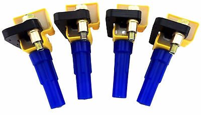 4 PACK IGNITION COILS for 2004-14 2.5L SUBARU IMPREZA GT WRX STI FORESTER LEGACY