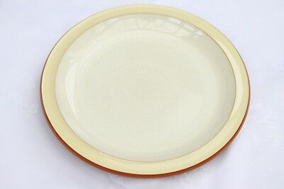 Denby Fire Yellow Dinner Plate D=10.5 Inches or 26.5cm