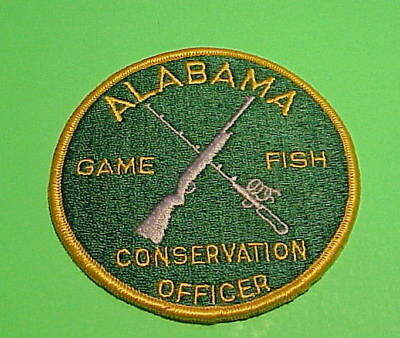 Alabama  Game  Fish  Conservation Officer / Game Warden  Police Patch