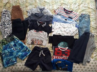 Wholesale job lot boys clothes aged 6/7 including next and marks 19 items