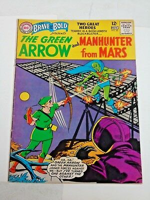 Brave And The Bold #50 comic (FN+) Green Arrow1963