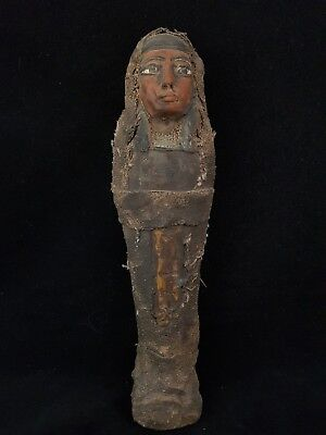 ANCIENT EGYPTIAN ANTIQUE EGYPT Shabti USHABTI STATUE RARE STONE Shabti BC