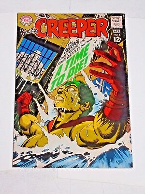 Beware The Creeper #6 comic (FN) Kane art 1968