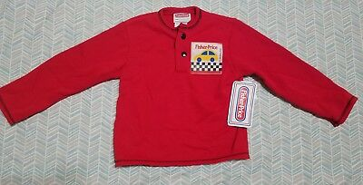 Vintage 1988 Fisher Price 2T Red Sweater