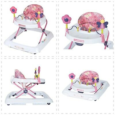Baby Trend Walker Emily 1-24 months Adjustable Height With Tray BRAND NEW Folds
