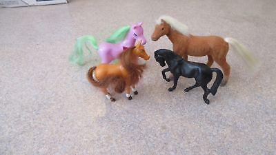 "Horses Lot of 4 3"" Tall"
