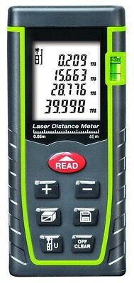 Lazer Measure Up To 40M LCD Backlight Portable Laser Distance Measure Handheld