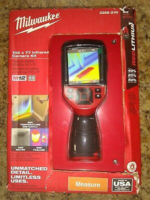 New Milwaukee M12 12-Volt Cordless 102 x 77 Resolution Infrared Camera Hand Tool