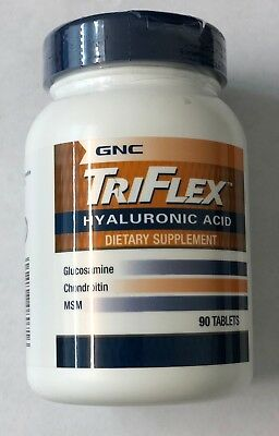 GNC TRIFLEX WITH hyaluronic acid, Glucosamine, Chondroitin 90 BEST BEFORE  9/2018