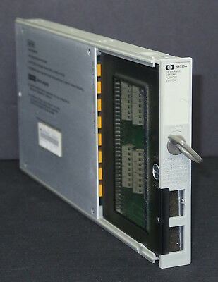 HP Keysight 44725A 16-Channel General Purpose Switch Module for 3852A LOT of 2