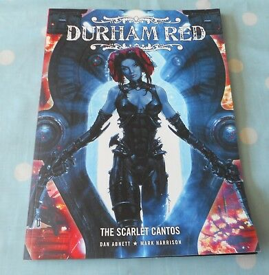 2006 DURHAM RED THE SCARLET CANTOS - 1st by REBELLION - LARGE GRAPHIC