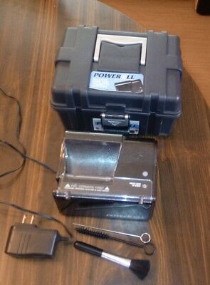 Poweroll Electric Cigarette Rolling Maker Injector Machine by Top-O-Matic