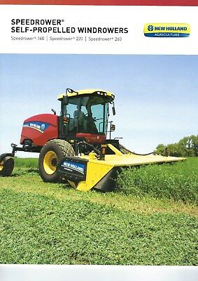 New Holland Self Propelled Windrowers Series Sales Brochure - 2016