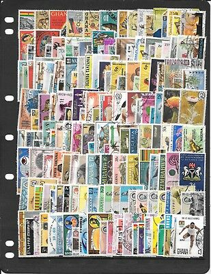 Africa S307 Large Coll Of Used Stamps. I Am Retiring See Note Below To Buy Stock