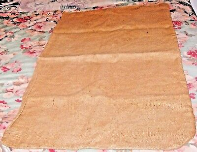 "VINTAGE BURLAP FEED SACK POTATO PRODUCE BAG 100 POUNDS NET WEIGHT 22"" x 40"""