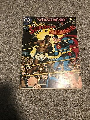 Superman vs. Muhammad Ali -DC Treasury Size Collector's Ed. C-56 1978 Neal Adams