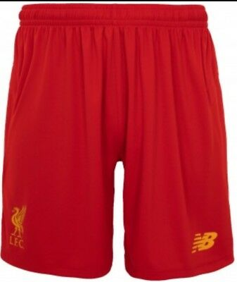 Official Liverpool FC - Liverpool Home Shorts - Aged 6 / 7 Years