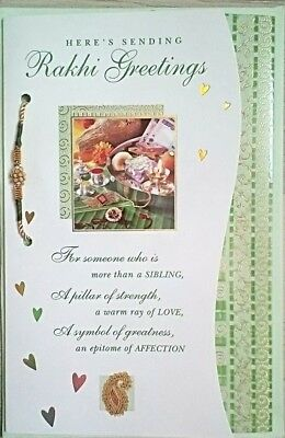 Archies Rakhi Card With Free Rakhi Include Envelope 23×14 c.m. approx.