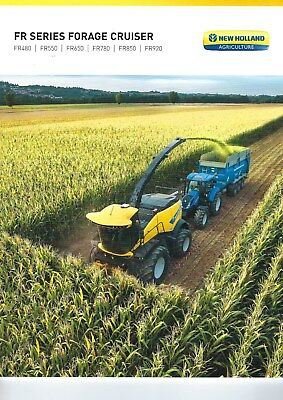 New Holland FR Series Self Propelled Foragers Sales Brochure - 2018