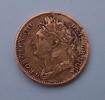 1823 George IV - Copper Coin - Farthing?