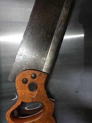 """Henry Disston & Sons 12"""" 14 tpi Back Saw"""