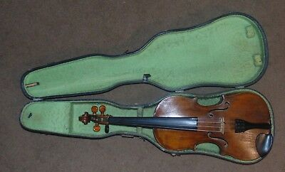 Antique Conservatory Violin Pre 1899 Interesting Old Beauty