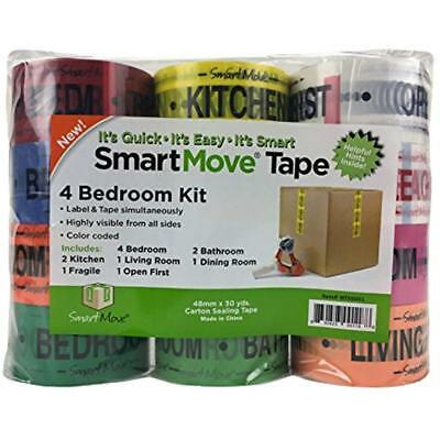 4 Bedroom Labeling Tape Living Room Packing Bathroom Moving Supplies