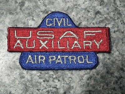 0069 Us Post Ww2 /wwii  Civil Air Patrol Usaf Auxiliary Patch