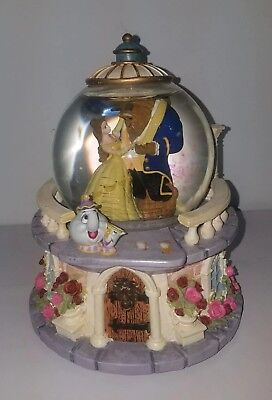 Disney Beauty And The Beast Snowglobe