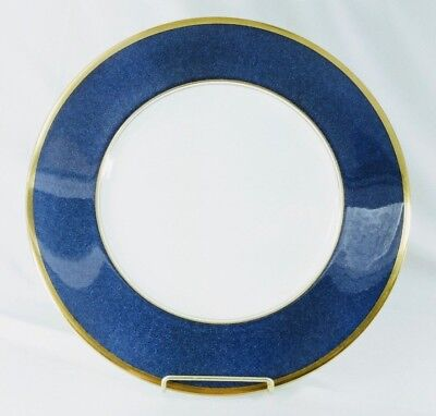 "Coalport Athlone Blue Dinner Plate(s) 10 3/4"" Blue Gold Excellent (Multiples)"