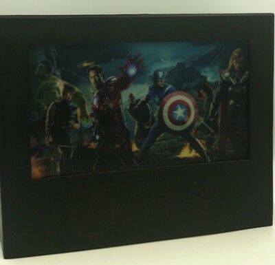 Avengers 4-Disc Blu-ray 3D Collectible Set w/ Illuminated Lenticular Case + More