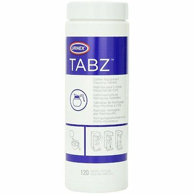 Urnex Tabz Coffee Brewer Cleaning Tablets, 120