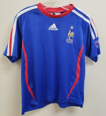 a6ae7791c9f Vintage France National Football Team Adidas Soccer Football Kit Size  Toddlers L