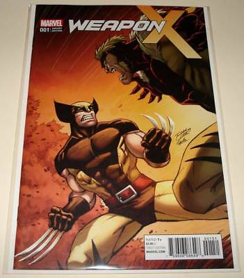 WEAPON X # 1 Marvel Comic (June 2017) NM   Ron Lim CLASSIC VARIANT COVER EDITION