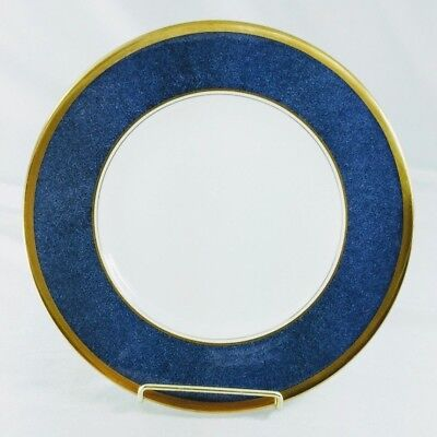 "Coalport Athlone Blue Salad Plate(s) 8"" Blue Gold Excellent (Multiples)"