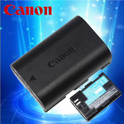 Genuine Original Canon LP-E6 Battery for EOS 5D3 5D2 70D 80D 60D 7D 6D LC-E6E