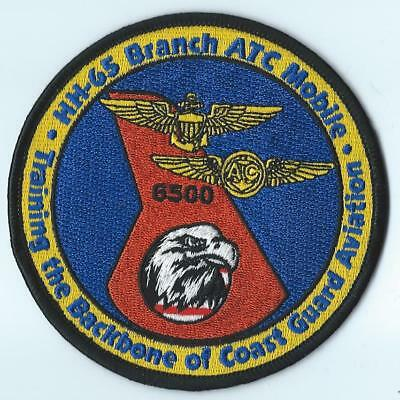 Us Coast Guard Hh-65 Branch Air Training Command Mobile 6500 Patch