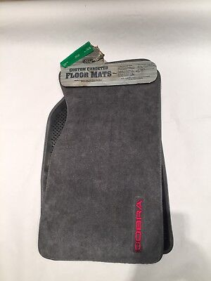 1993 Ford Mustang Cobra floor mats NEW never used. Only one on ebay!