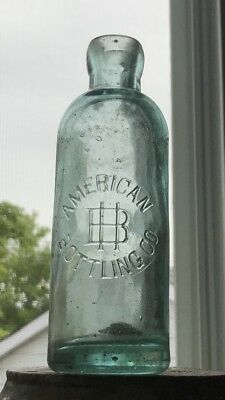 American Bottling Co Hinds Brothers Kingston Ontario Hutchinson Bottle