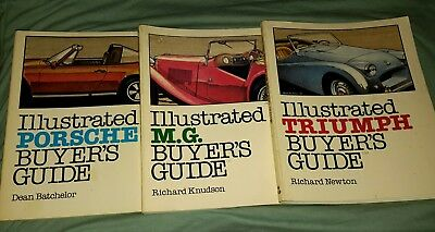 Illustrated Buyer's Guide Porsche Triumph And Mg Paperbacks
