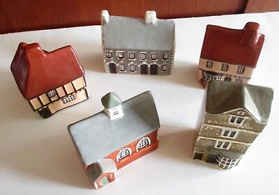 5 Mudlen End Studio Country Cottages Made In England Handpainted PERFECT