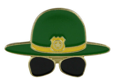 Super Troopers Hat & Glasses Lapel Hat Pin Stoner Movie 420 HatPin // right meow