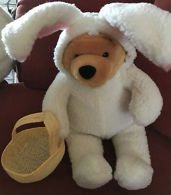 """""""Winnie the Pooh"""" Easter Bunny Basket"""