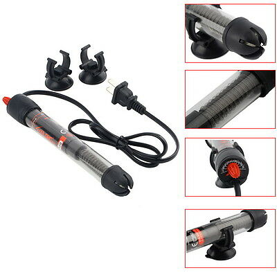 50/100/200/300 Aquarium Mini Submersible Fish Tank Adjustable Water Heater WUY